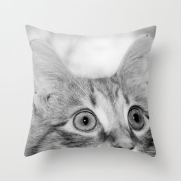 What's New KittyCat Throw Pillow