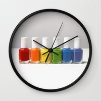 equality Wall Clocks featuring ~ Equality ~ by Shirley Yu