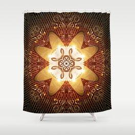 Elegant, decorative kaleidoskop Shower Curtain