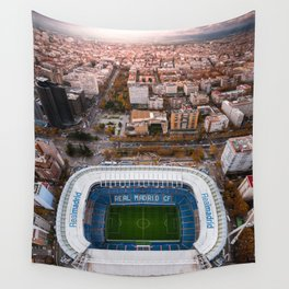 Santiago Bernabéu Stadium - Madrid, Spain Wall Tapestry