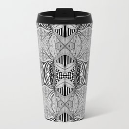 Zentangle #9 Travel Mug