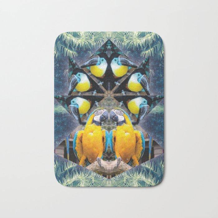 Rainbow Jungle Bath Mat