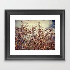 Fall color Framed Art Print