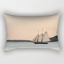 Sunset Sail Rectangular Pillow