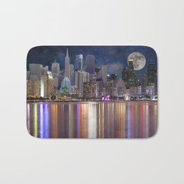 Can you name all the cities? Bath Mat