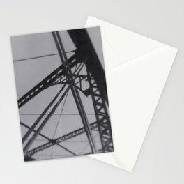 """under the iron bridge we kissed"" Stationery Cards"