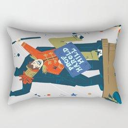 The Music Man Rectangular Pillow