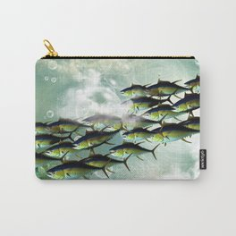 Fish shoal Carry-All Pouch