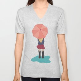 Play in the Puddles Unisex V-Neck