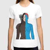 katniss T-shirts featuring Katniss-Mystique by richoz