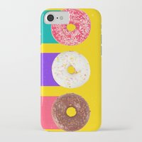 donuts iPhone & iPod Cases featuring Donuts by Danny Ivan