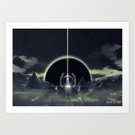 Poster - Voyagers Art Print