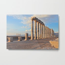The Ancient City 'Laodikeia' Metal Print
