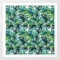 Elephant Tropical Leaves Pattern by gypsea_art