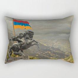 David of Sassoun Rectangular Pillow