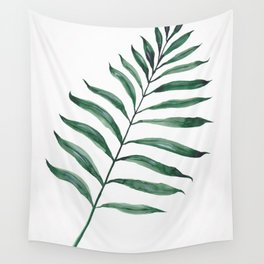 Tropical Greenery - Palm Tree Leaf Wall Tapestry