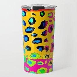 colorpop leopard Travel Mug