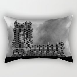 HexArchi - Portugal, Lisboa, Torre de Belém Rectangular Pillow