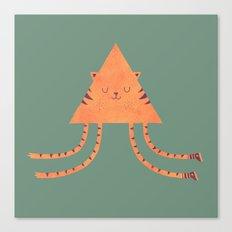 Emily's Kitty Canvas Print