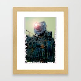 Engine 519 Framed Art Print