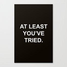 Quote Canvas Print