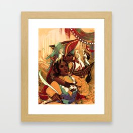 Josibela Framed Art Print