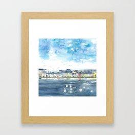 Long Walk, Galway Framed Art Print