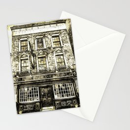 Prospect of  Whitby Pub London 1520 Vintage Stationery Cards