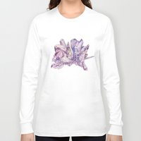 crystals Long Sleeve T-shirts featuring Crystals by my first palette