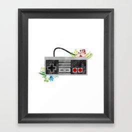 Here We Are Now, Entertain NES Framed Art Print