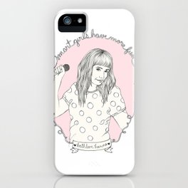 Smart Girl - Kathleen Hanna iPhone Case