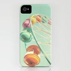 Rainbow Wheel iPhone (4, 4s) Slim Case
