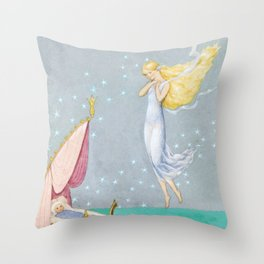 Fairy´s Gift By Rudolf Koivu  Throw Pillow