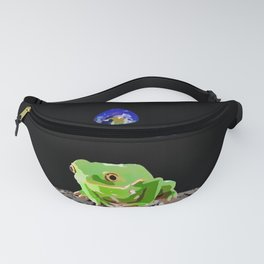 Moon Frog Fanny Pack