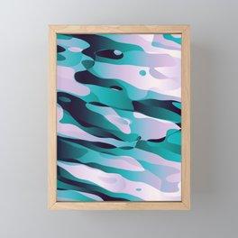 Ice Diving Framed Mini Art Print