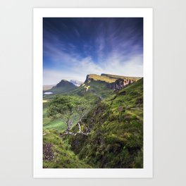 Mesmerized By the Quiraing III Art Print