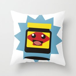 Happy Little Vegemite Throw Pillow