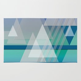 Funky Triangles Rug