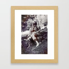 "VAMPLFIED ""Brick Dust"" Framed Art Print"