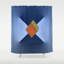 Interfaces Shower Curtain