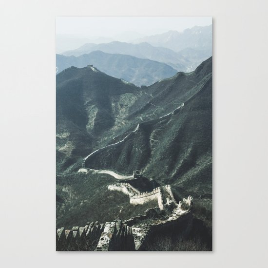 The Great Wall of China I Canvas Print