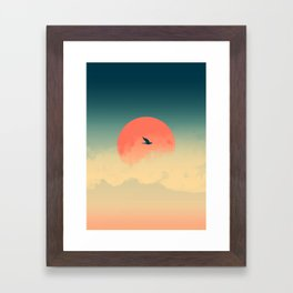 Lonesome Traveler Framed Art Print