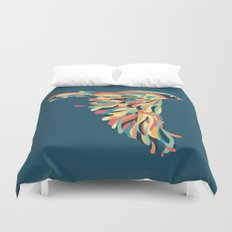 Downstroke Duvet Cover