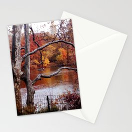 Fall in Central Park Stationery Cards