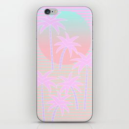 Hello Miami Sunrise iPhone Skin