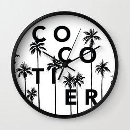 Cocotier Wall Clock