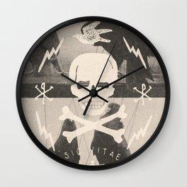 Sic Vitae Wall Clock