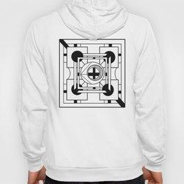 Cornerstone - Minimalist Geometric Abstract Hoody