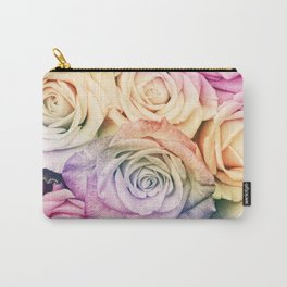 Some people grumble - Colorful Roses - Rose Garden pattern Carry-All Pouch