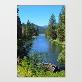 Payette River Scene ~ II Canvas Print